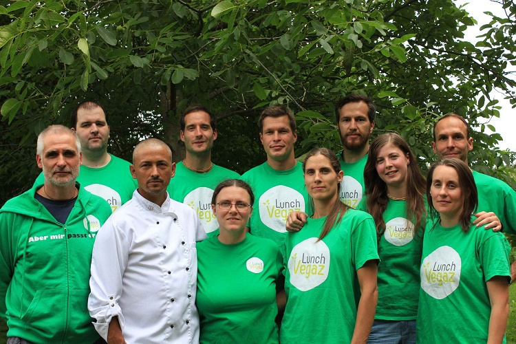 Lunch-Vegaz-Team